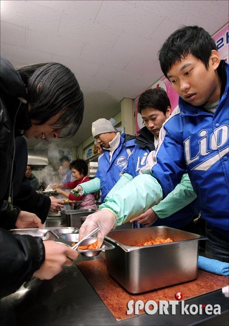 무료급식 봉사활동