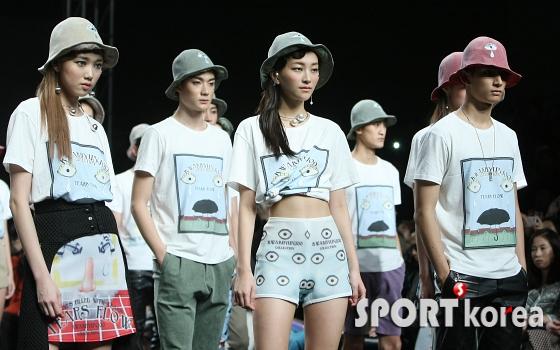 `곽현주 컬렉션` 화려한 모델들