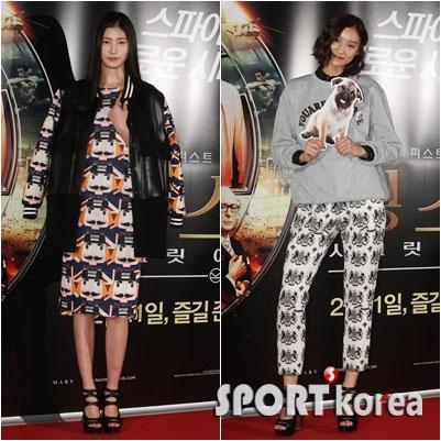 김혜아-현지은 `9등신 패션 모델의 자태~`
