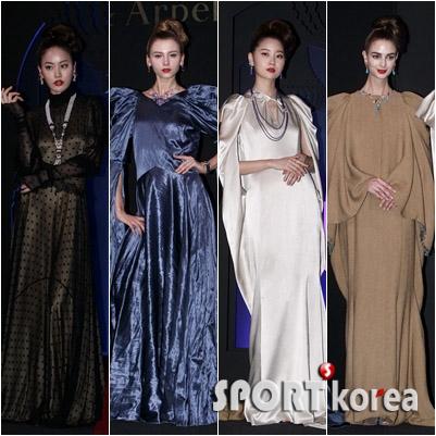 컬러별 드레스 패션