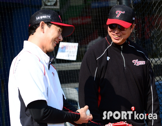 차명석 코치, `(손)주인이 오늘 컨디션 좋지?`