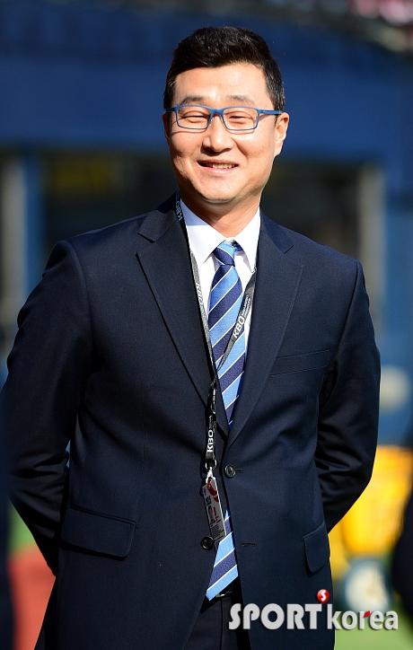 이종열 해설위원, `친정팀 경기를 해설할려니 떨리네요`