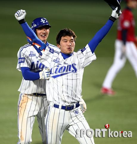 박해민 `오늘의 영웅`