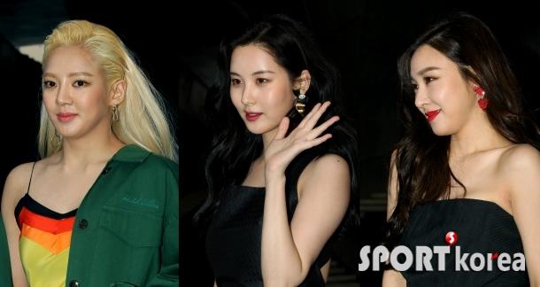 효연-서현-티파니 `소녀시대의 패셔니스타`