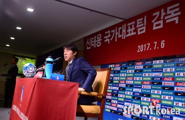 신태용 감독 `9회 연속 월드컵 진출하겠습니다`
