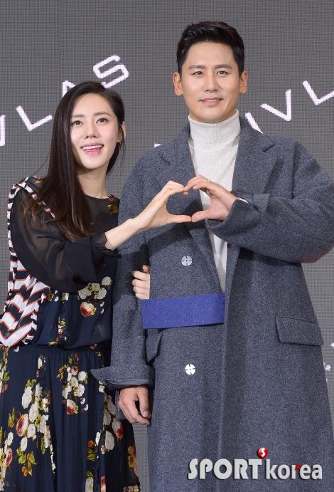 추자현-우효광 부부 `사랑스러운 부부의 하트`