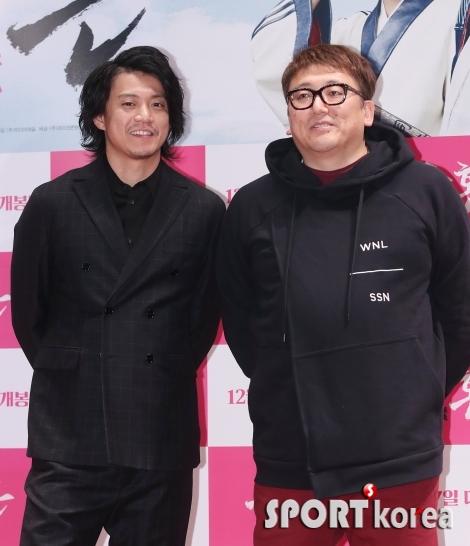 오구리 슌-후쿠다 유이치 `친구같은 배우와 감독`