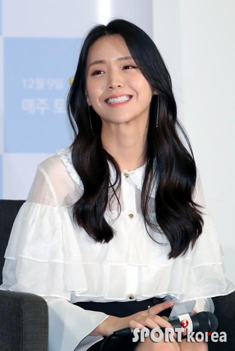 김지은 `기분 좋은 웃음`