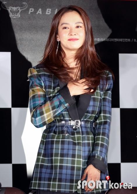 송지효 `성난황소`에서 당찬 아내 역으로 액션 직접 소화