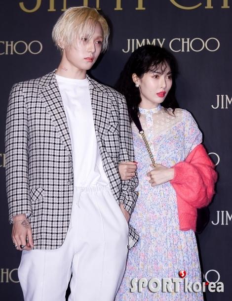 김효종-현아 커플 `우리 잘 어울리죠~?`