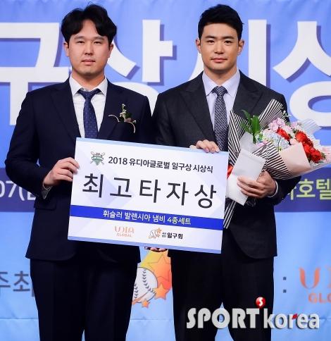 김재환 `2018년 최고의 타자!`