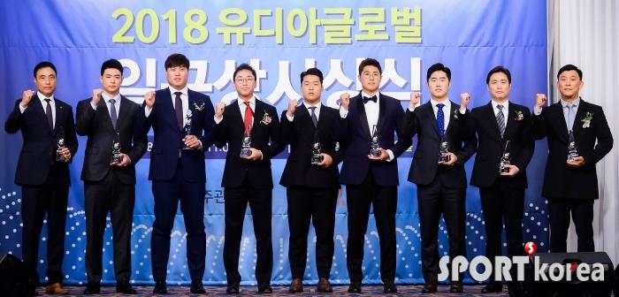 2018년 한국야구를 빛낸 선수들!