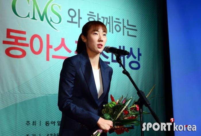 4년 연속 수상 박혜진 `시상식 단골손님~`
