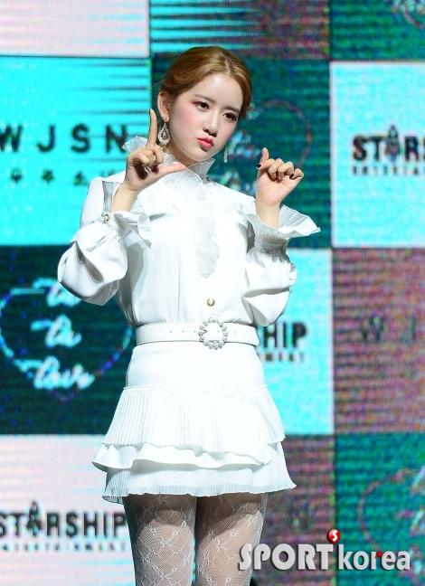 우주소녀 엑시, 귀여운 리더