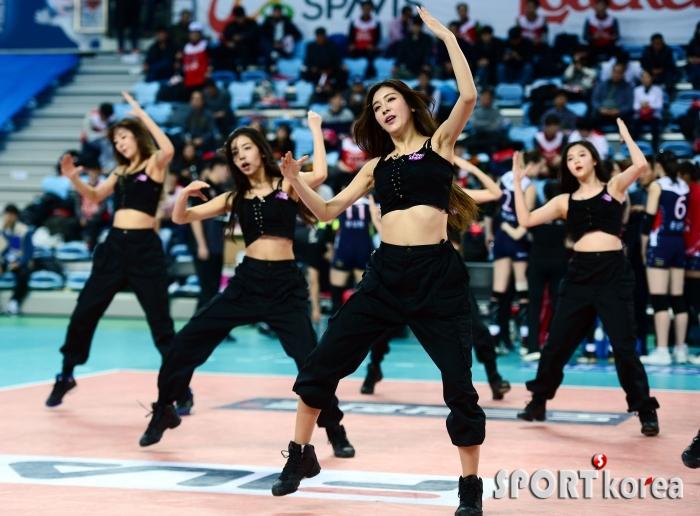김연정, 파워풀한 댄스!