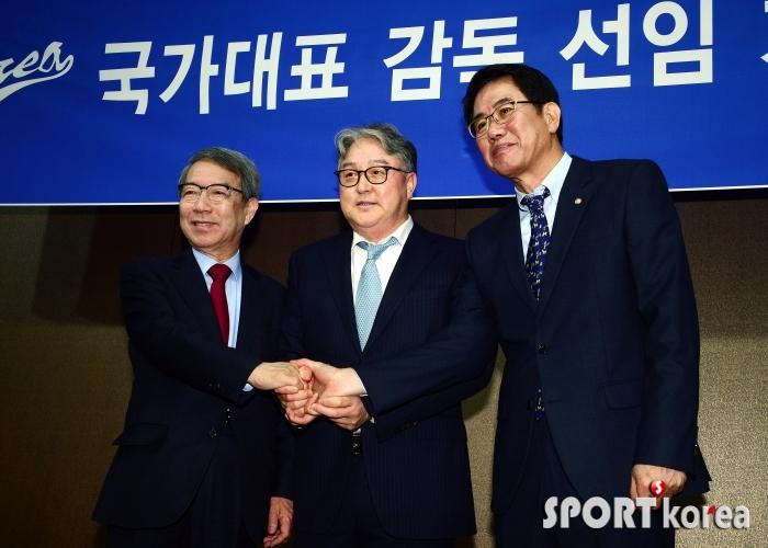 국가대표 감독에 선임된 김경문 감독!