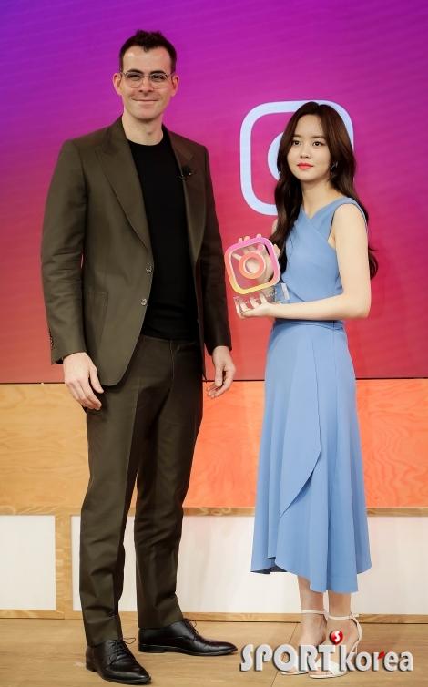 김소현 `인스타그램에서 상 받았어요~`