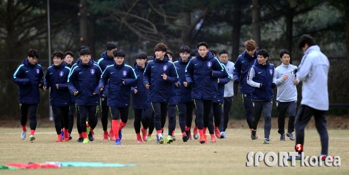 U-20 축구대표팀 소집 훈련