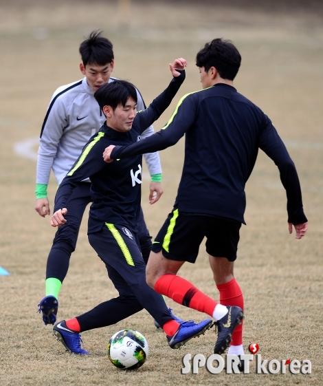 U-23 축구대표, 올림픽으로 가는 첫 훈련