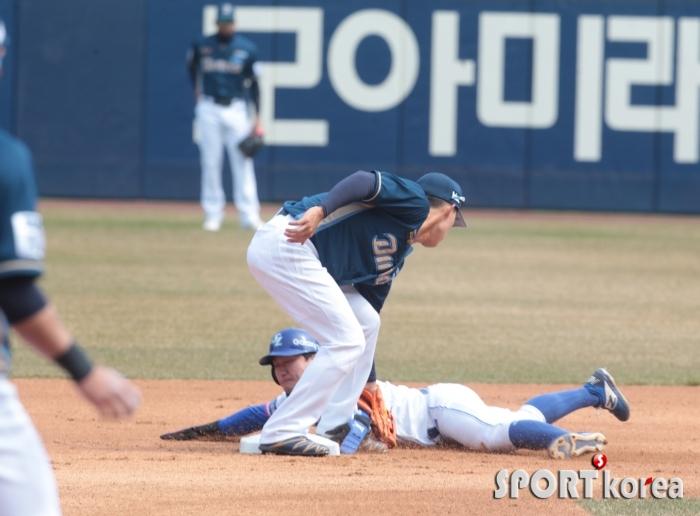 김성훈, 대도 출발합니다.