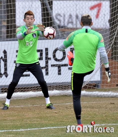 김승규 장염, `조현우-구성윤` 훈련에 나서!