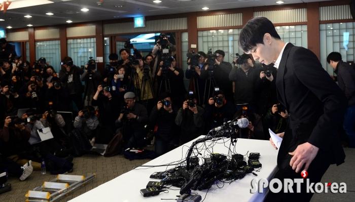 박유천, 이자리에 나서기까지 무서웠다!