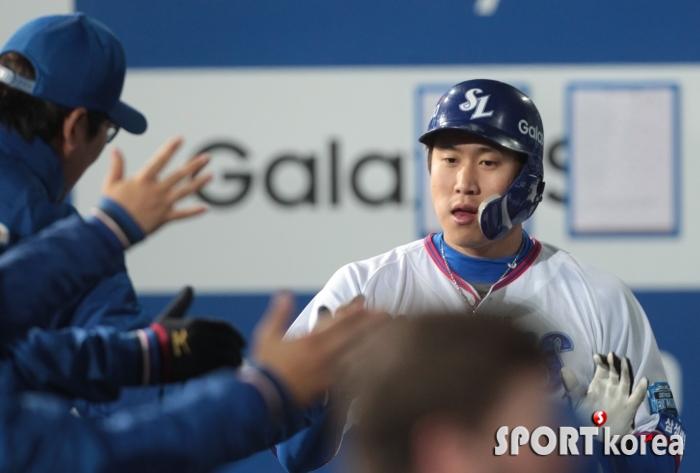 김동엽, 추가 득점