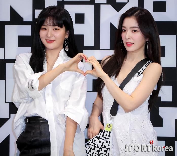 레드벨벳 슬기-아이린 `예쁜애 옆에 예쁜애`