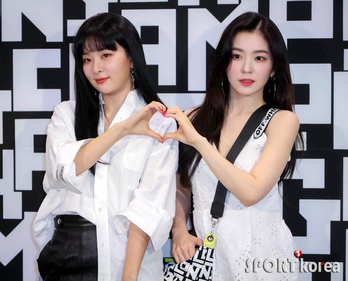 레드벨벳 슬기-아이린 `여신의 하트`
