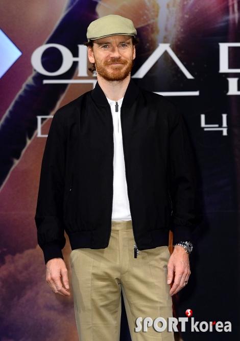 마이클 패스벤더 `한국에 온 매그니토`