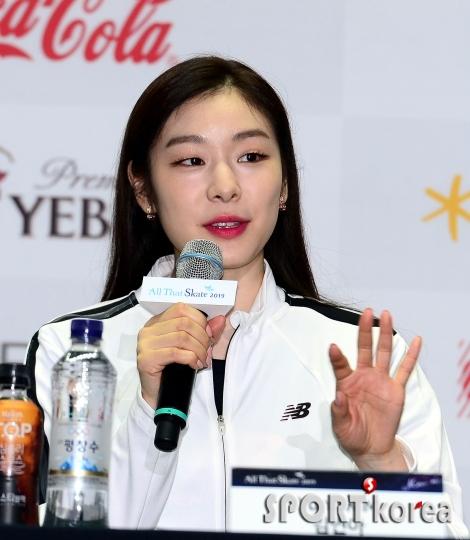 김연아, 새로운 갈라 프로그램 기대하세요~