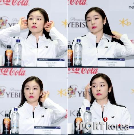김연아, 언제나 예쁨~