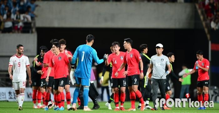 한국-이란 `무승부가 아쉬워`