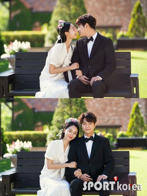 `단, 하나의 사랑` 신혜선-김명수 `깜짝 웨딩 포착`