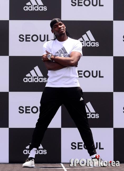 폴 포그바 `축구 게임에서 보던 그가 한국에 왔다!`