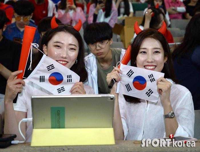 대한민국의 승리를 기원해요!
