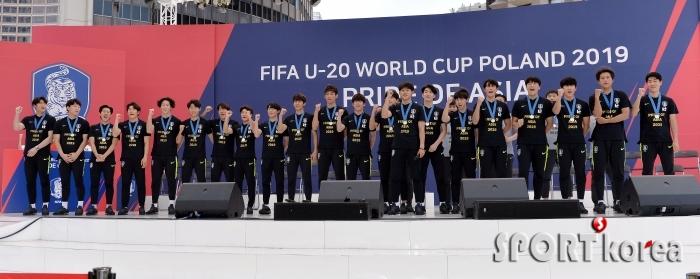 U-20 축구대표팀 `남자축구 사상 첫 준우승의 쾌거!`