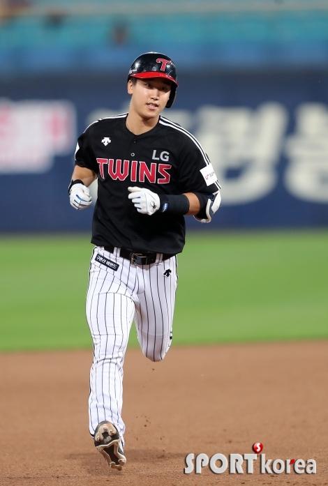 구본혁, 역전의 2점 홈런