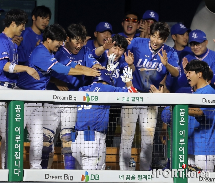 박해민, 신나는 홈런