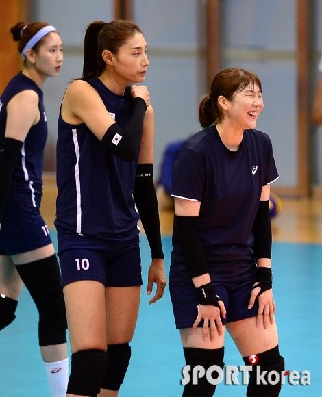 이소영 `(김)연경언니 너무 웃겨~`