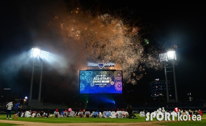 불꽃놀이로 마무리 하는 2019 올스타전!