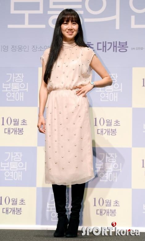 공효진, 여름-가을이 공존하는 패션~