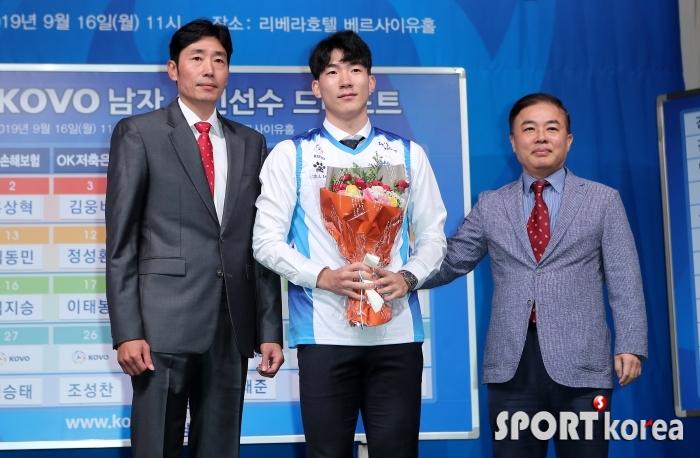명지대 김재남 `마지막에 수련선수로 삼성화재!`