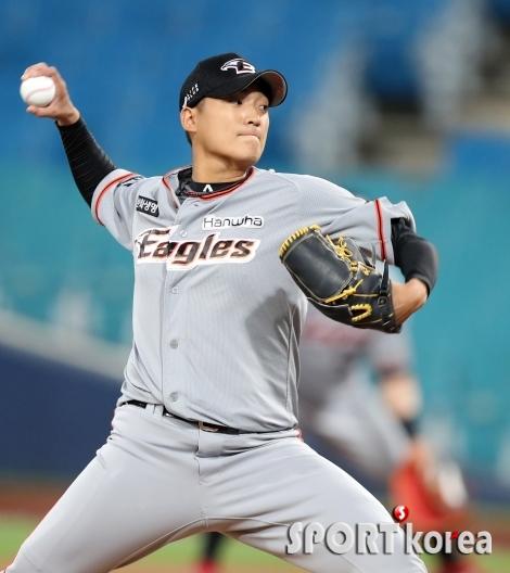 김이환, 승리를 향한 투구