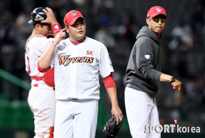 김태훈, 승리를 못 지키고 역전 허용!