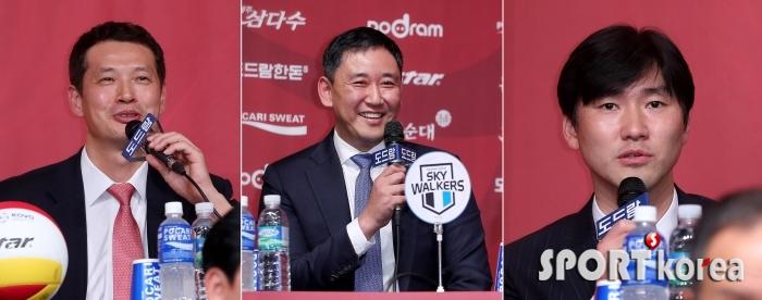 장병철-최태웅-석진욱 `기대되는 동갑내기 3인 감독`