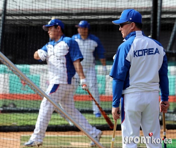 김경문 감독 `양의지의 활약이 중요해`