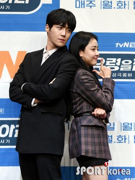 김선호-문근영, 비주얼 커플~