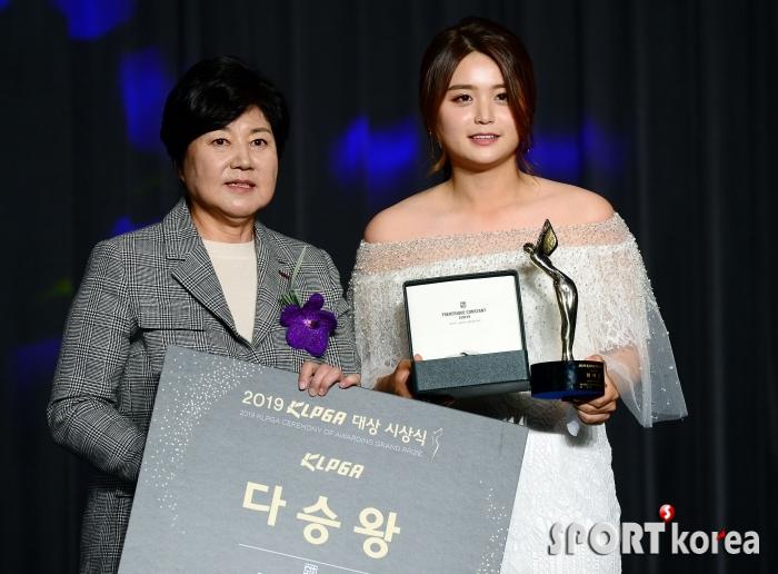 최혜진, 시즌 5승으로 다승왕!