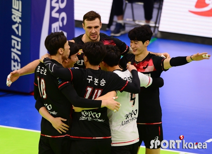 기쁨 나누는 한국전력